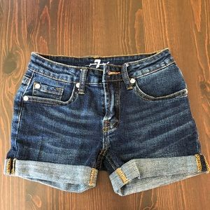 7 for All Mankind girls shorts!